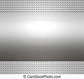metal steel or aluminium plate - great large metal steel or...