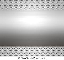 metal steel or aluminium plate - great large metal steel or...
