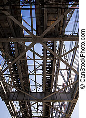 The steel bridge - The beauty of the industrialization...
