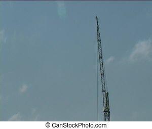 crane - some crane over sky