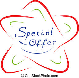 special offer star logo