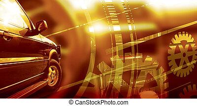 coche, servicio