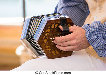 Accordion - An Accordian being played