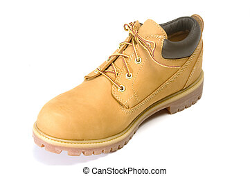 rugged outdoor low cut oxford work shoe boot cushion collar...
