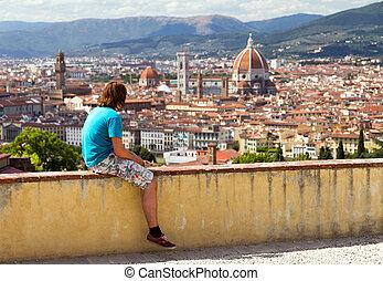 Watching Florence