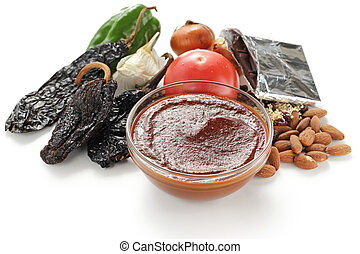 mole sauce, mexican cuisine - mole and its ingredients
