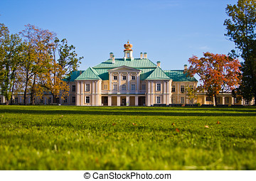 country palace of the last century - Big menshikovsky palace...