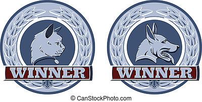 Cat and dog pet awards
