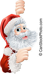 Christmas Santa Claus - Illustration of happy Christmas...
