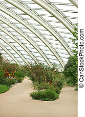 Conservatory Interior - Conservatory interior showing the...