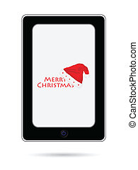 mobile phone with Christmas design