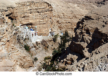 St. George's Monastery in Judea Desert Israel - St. George's...