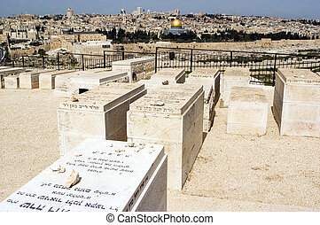 View of Jerusalem from Mount of Olives. Rafael...