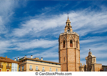 Historic  buildings with lace fronts Spain