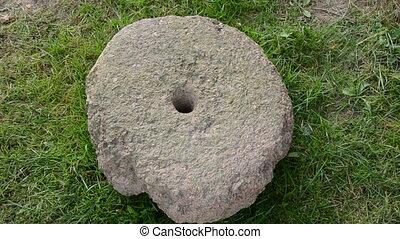 חמנית, עתיק, millstone