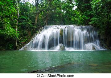 nacional, parque, cascadas