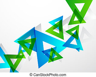 Geometrical colorful abstract background - Vector abstract...