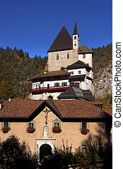 Sanctuary of San Romedio - Trento Italy - Ancient sanctuary...