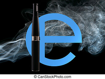 Electronic cigarette - Set for smoking The electronic...