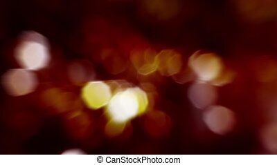 Animation - light show - Bokeh