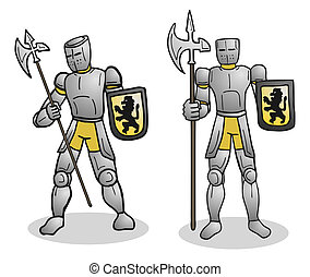 Couple medieval - Creative design of couple medieval