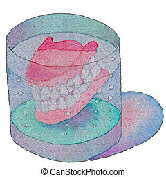 Denture, Artificial tooth