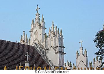 Church in Kerala , India