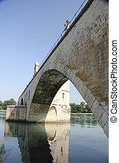 Pont Saint-Bnezet, the pont in Avignon - The famous bridge...
