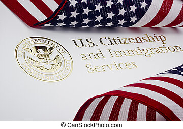 U.S. Department of Homeland Security Logo - Photograph of a...
