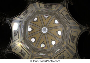 Dome of cathedral Saint-Sauveur d'Aix in Aix-en-Provence, a...