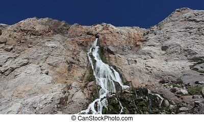 Waterfall in Gibraltar - Manmade Waterfall in Gibraltar