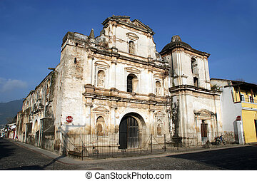 San Agustin Church in Antigua, Guatemala