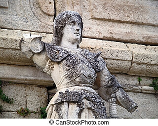 Joan of Arc statue - The statue of Joan of Arc, near the...