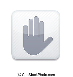Vector version Hand icon Eps 10 illustration Easy to edit