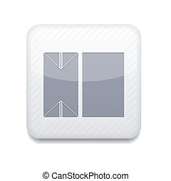 Vector version. packaging of milk icon. Eps 10 illustration. Easy to edit