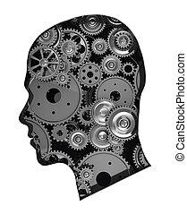 Gears in head