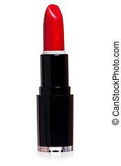 rojo, lápiz labial