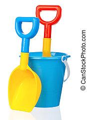 玩具, 水桶, 黑桃