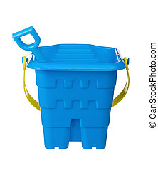 Toy bucket and spade