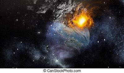 Earth Photo- Apocalypse - Earth Photo Apocalypse - Digital...