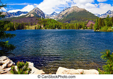 Strbske Pleso - 2 - beautiful lake Strbske Pleso in High...