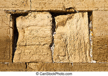 Prayers In The Western Wall