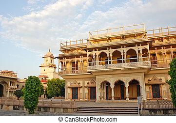 Mubarak Mahal in City palace, Jaipur, India