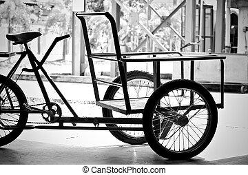 transport - bicycle rickshaws.