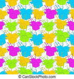 Gift wrap seamless texture bg - Gift wrap seamless linear...