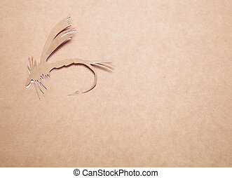 Fly-fishing - Image of abstract fly-fishing handmade.