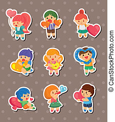 kid love stickers