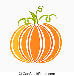 Pumpkin illustration - Pumpkin - vector illustration