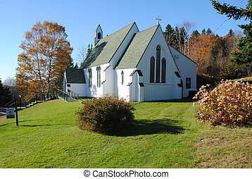 St Anne's Episcopal Church , Welshpool , New Brunswick ,...