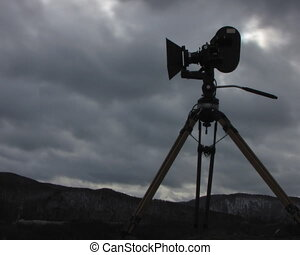 Film-chamber Time-lapse - clouds, sky, timelapse, camera,...
